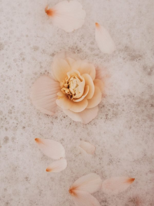 flowers in a bubble bath for post on can you control who you have feelings for