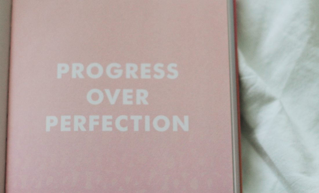 Image of quote Progress Over Perfection - The Style of Laura Jane