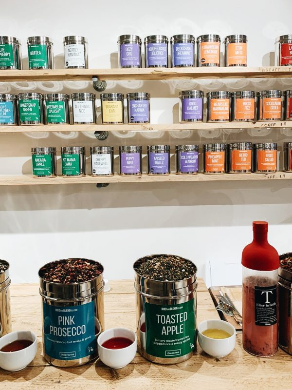 Unique date ideas - Bird & Blend Tea Mixology Workshop