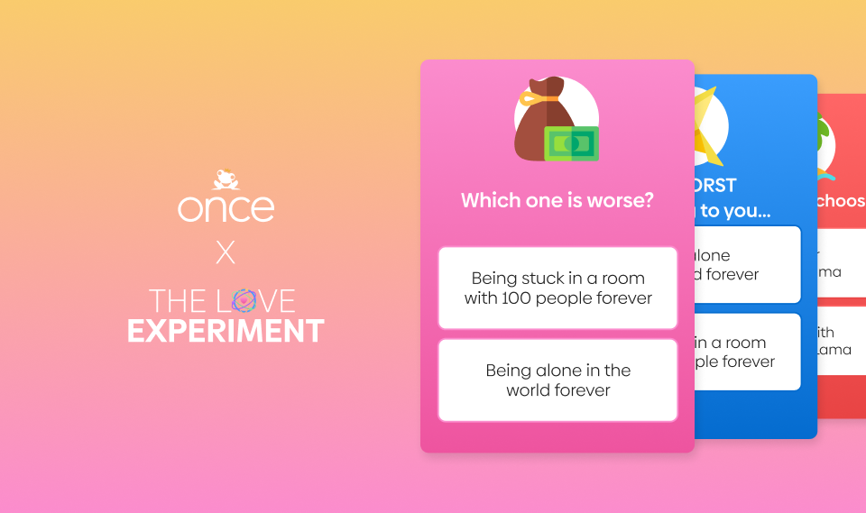 Once dating app: The Love Experiment - The Style of Laura Jane