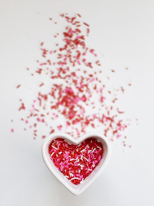 Image of love heart for blog on Once dating app - Love Experiment