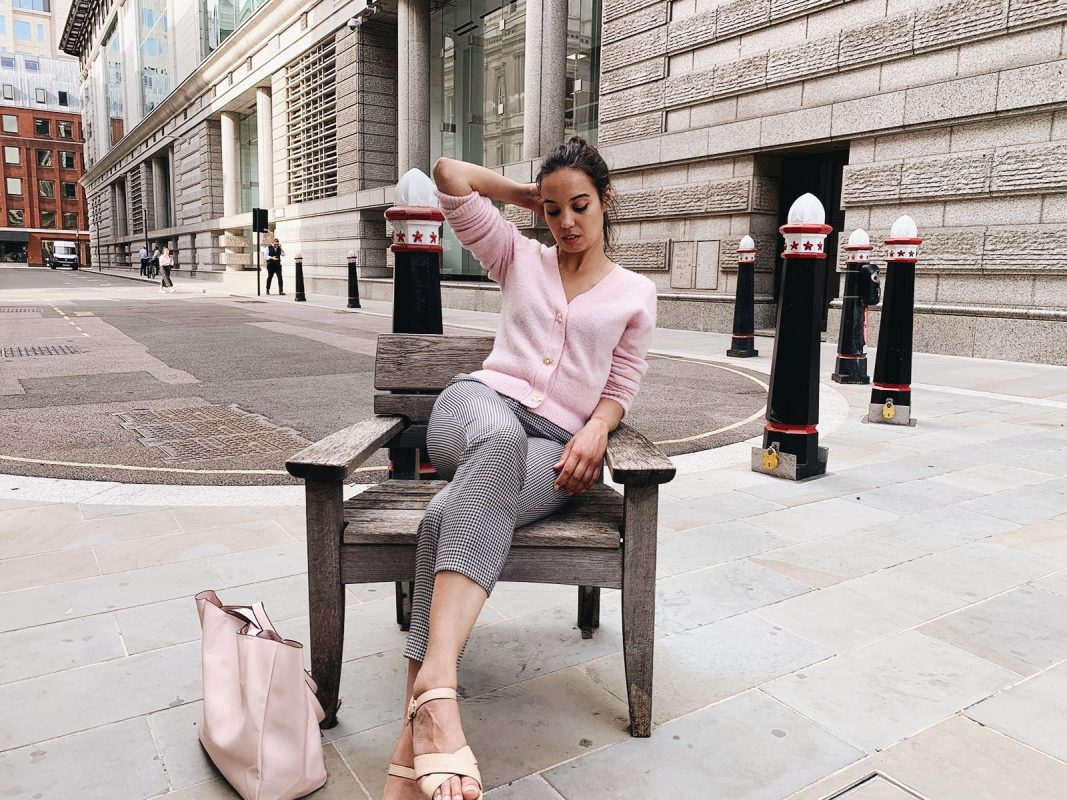 Woman in London for blog on getting rid of someone who can't take a hint - The Style of Laura Jane