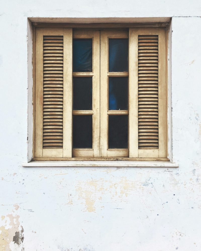Image of closed window for blog on getting rid of someone who can't take a hint